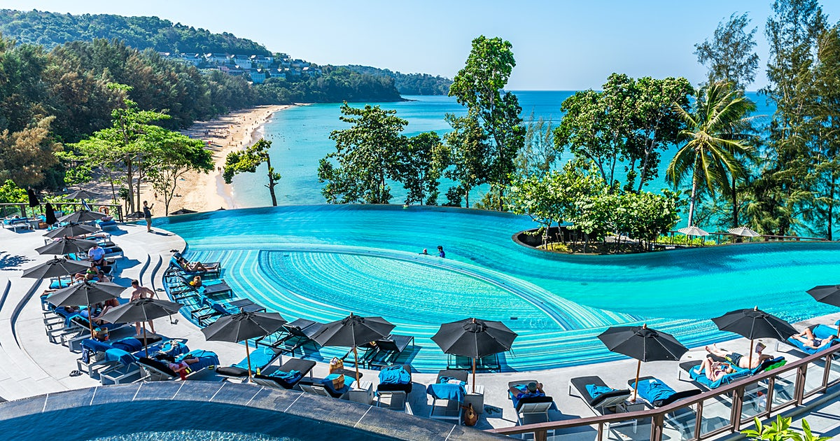 Pullman phuket arcadia naithon beach for Billige pool sets