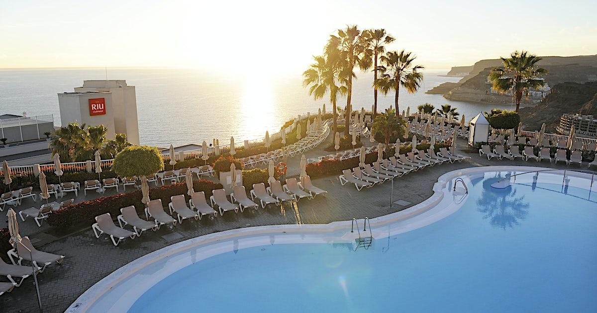 clubhotel riu vistamar puerto rico spanien. Black Bedroom Furniture Sets. Home Design Ideas