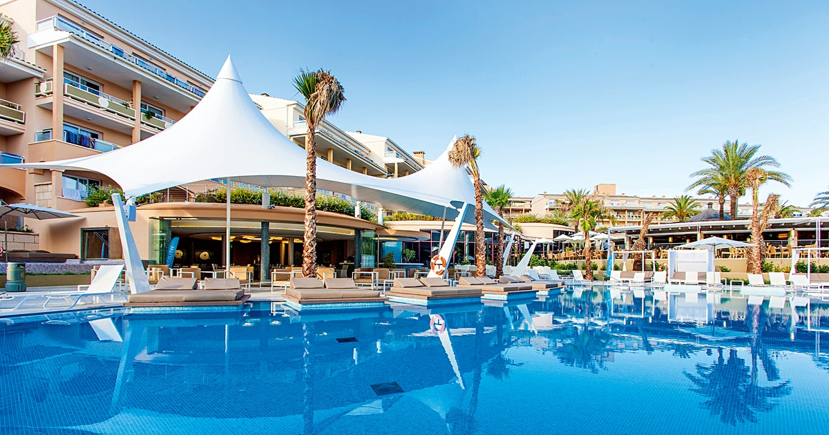 Insotel cala mandia resort for Billige pool sets