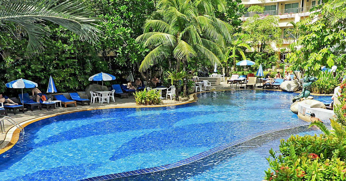 Hotel royal paradise for Billige pool sets